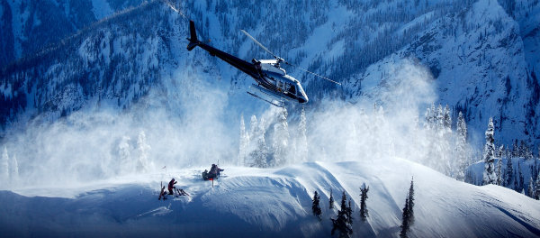Heli skiing - number one on Ski Magazine's life list