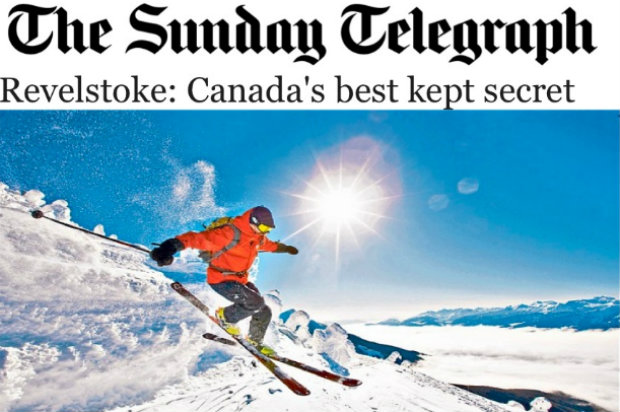 Sunday Telegraph - Revelstoke: Canada's best kept secret