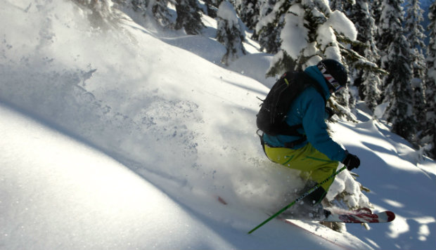Muscle recovery after heliskiing