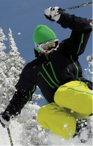 Luxury ski fashion ideas for 2012