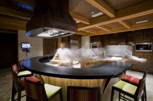 Private chef at Bighorn in action