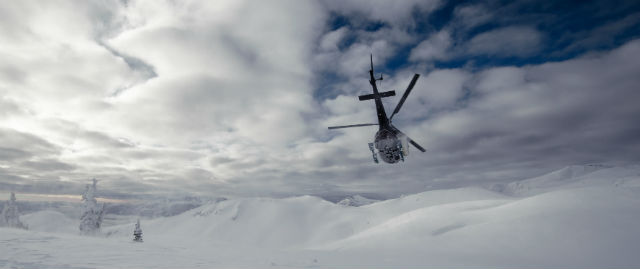 Dream Heliskiing in Revelstoke