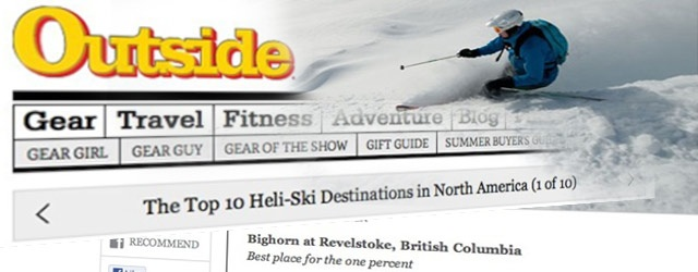 Outside Magazine's Best Heliski Destination