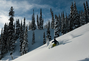 Dream heli skiing from Bighorn