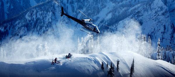 Heli skiing - number one on Ski Magazine's life list