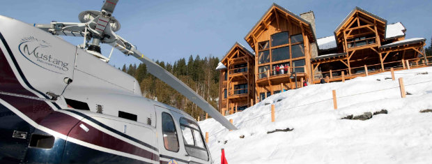 Private heli skiing Bighorn Lodge Revelstoke