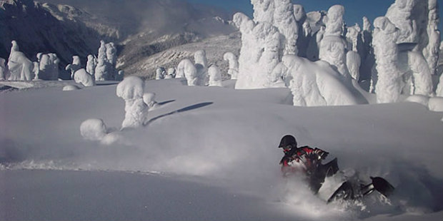 Winter activities at Bighorn Revelstoke