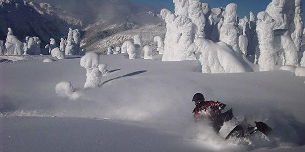 Winter activities at Bighorn Revelstoke