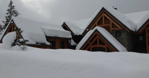 Incredible snowfall at Bighorn Revelstoke